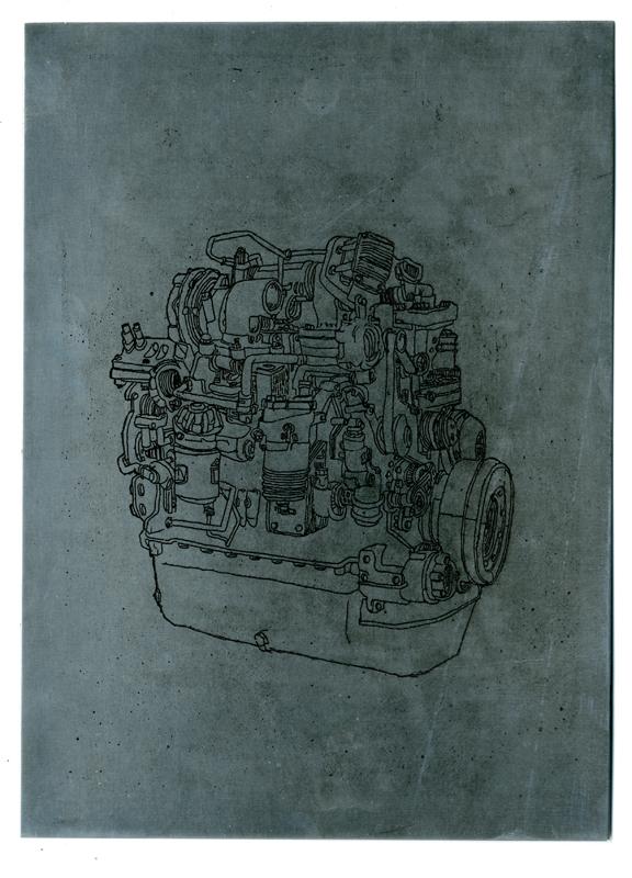 gravure sur zinc